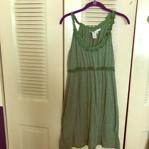 Max Studio Striped Sun Dress